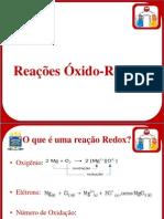 Reações Oxido-Redução