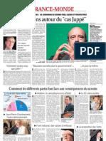 """Questions autour du """"cas Juppé"""" - Le Dauphiné Libéré"""