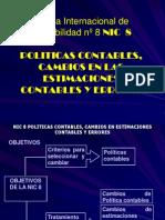Norma Internacional de Contabilidad nº 8 NIC  8.pptx