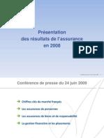 Marché Assurances en 2008