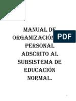 Manual de Operaciones de Las Esc. Nor