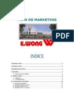 Plan de Marketing Wong