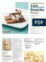 EatingWell 100 Calorie Snacks Cookbook