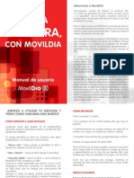 Manual Usuario + Condiciones MovilDIA