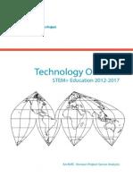 2012 Technology Outlook for Stem Education