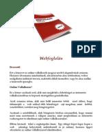 Webfoglalás - Goldmann Dávid