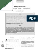 Pruebas Proyectivas Acerca de Su Validez y Confiabilidad 2004