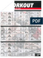 TapouT XT - Workout Calendar