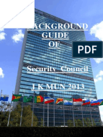 Background Guide of UNSC