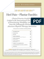 Heel Pain-Plantar Fasciitis - JOSPT - April 2008