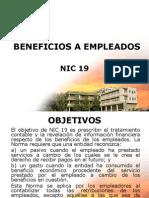 NIC 19 Beneficios a empleados.ppt