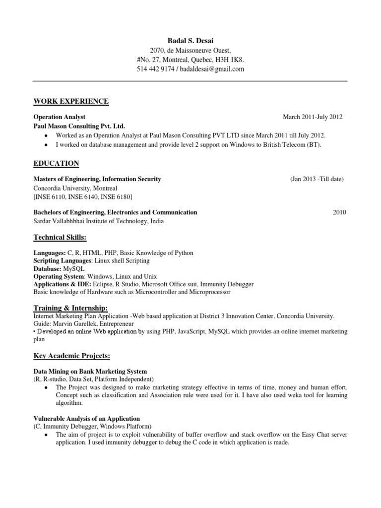 Badal CV