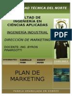 PLAN DE MARKETING EMPRESA PRODUCTORA DE PANELA GRANULADA EN SOBRES.doc