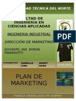 PLAN DE MARKETING EMPRESA PRODUCTORA DE PANELA GRANULADA EN SOBRES.doc