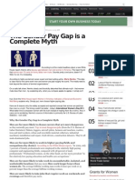 Mainstream News Debunks the Gender Wage Pay Gap
