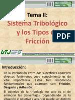 2 Sistema Tribologico y Tipos de Friccion