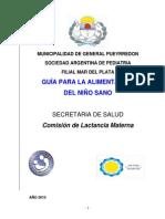 Guia Para La Alimentacion Del Ninio SanoII Argentina