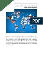 Declaración de Granada sobre la Globalización
