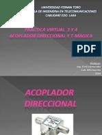 Practica Virtual 3 y 4 Acoplador Direccional y Tmagica
