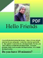 Spend 10 Minutes by Dr Apj Abdul Kalam 16573