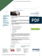 IV Curso de Aduanas y Administración Tributaria - Oficiales de Aduanas