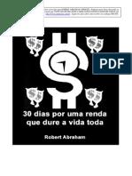 30 Dias Por Uma Renda Que Dure a Vida Toda - Robert Abraham
