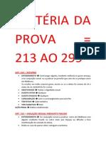 Direito Penal IV - 13-01