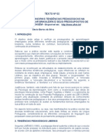 AS PRINCIPAIS TENDÊNCIAS PEDAGÓGICAS  Décio Barros