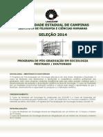 edital_2014 UNICAMP