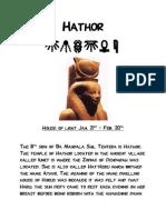 Hathor - Solar Biology - Lunar Astrology