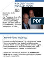 Albert Bandura Personalidad