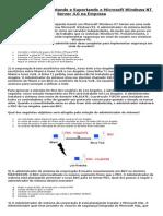 070-068 - Impl. o Microsoft Windows NT Server 4.0 Na Empresa