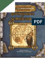 d&d 3.5 - Divindades e Semideuses