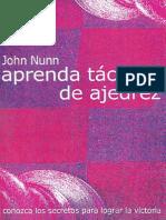 Nunn - Aprenda Tacticas de Ajedrez (2003)