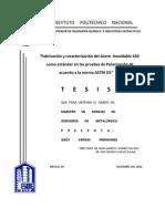 Acero 430 como estándar para pruebas de polarización desde pag. 29
