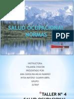saludocupacionaltaller4-120516165123-phpapp01