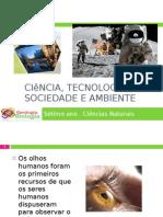 Apresentação nr. 3 - ciência, tecnologia, sociedade e ambiente