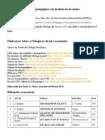 Publicações e Obras Sobre Ufologia