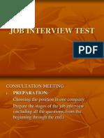 Job Interview Test