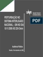 Análise Apagão Brasil