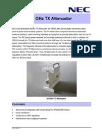 38 GHz TX Attenuator