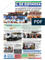 Jornal Espinosa Setembro 2013