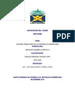 Trabajo Sistema Tributario Dominicano