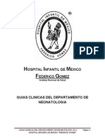 Guias Clinicas Del Hospital Infantil de Mexico