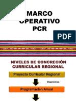 Marco Operativo Pcr