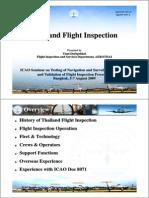 Thai Land Flight Inspection