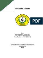Makalah Bakteriologi (Toksin)