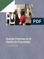 Buenas Prácticas en el Diseño de Propuestas