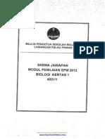 SKEMA Biologi Kertas 1,2,3 Percubaan SPM 2012 P Pinang [Myschoolchildren.com]