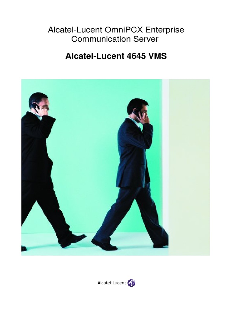 Alcatel Lucent 4645 Vms Voicemail Email